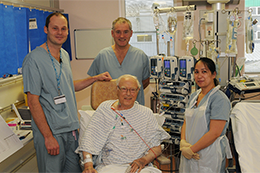 All change at Saint Peter's Hospital - Read the article