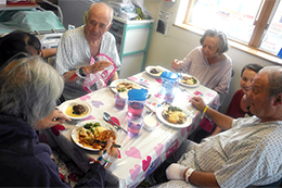 Cherry Ward Lunch Club - Read the article