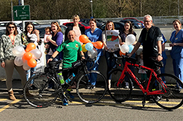 Peddling for pounds to support our Neonatal Intensive Care Unit - Read the article
