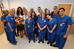 Lady Forsyth-Johnson opens New Unit - Read the article