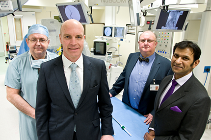 New Hybrid Theatre marks key development for St Peter's as a major Cardiovascular Centre - Read the article