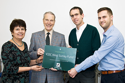 ICDC Surrey Receive Lloyds Bank Community Fund Award - Read the article