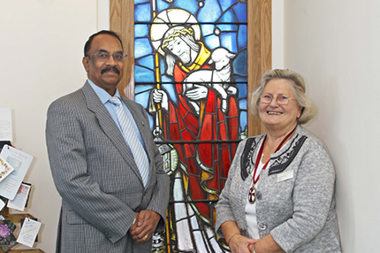 Memorial window restored to Ashford Hospital Chapel - Read the article