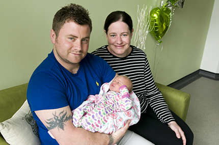 First baby Evie born at St Peter's New Midwifery Led Unit – The Abbey Birth Centre - Read the article