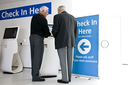 New Self-Check-In Service - Read the article