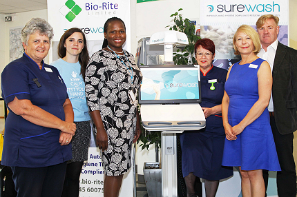Trust first in UK to have new mobile unit to help fight against hospital infections - Read the article