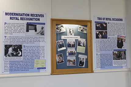 More of Saint Peter's Hospital history goes on display - Read the article