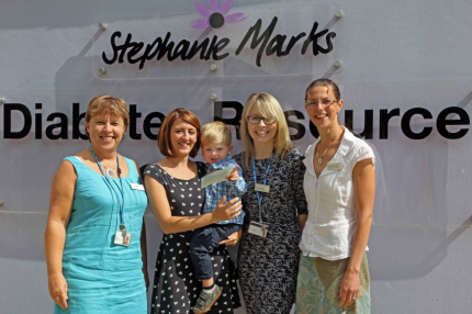 Oscar's grateful parents raise £2,700 for St Peter's diabetes centre - Read the article