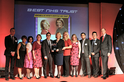 Ashford and St Peter's Wins National Customer Service Award - Read the article