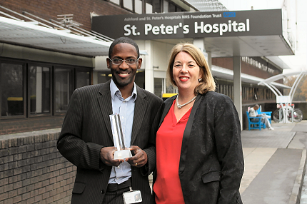 St Peter's Dr Radcliffe Lisk wins Emerging Leader Award - Read the article